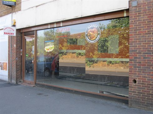 Retail premises let on behalf of landlord